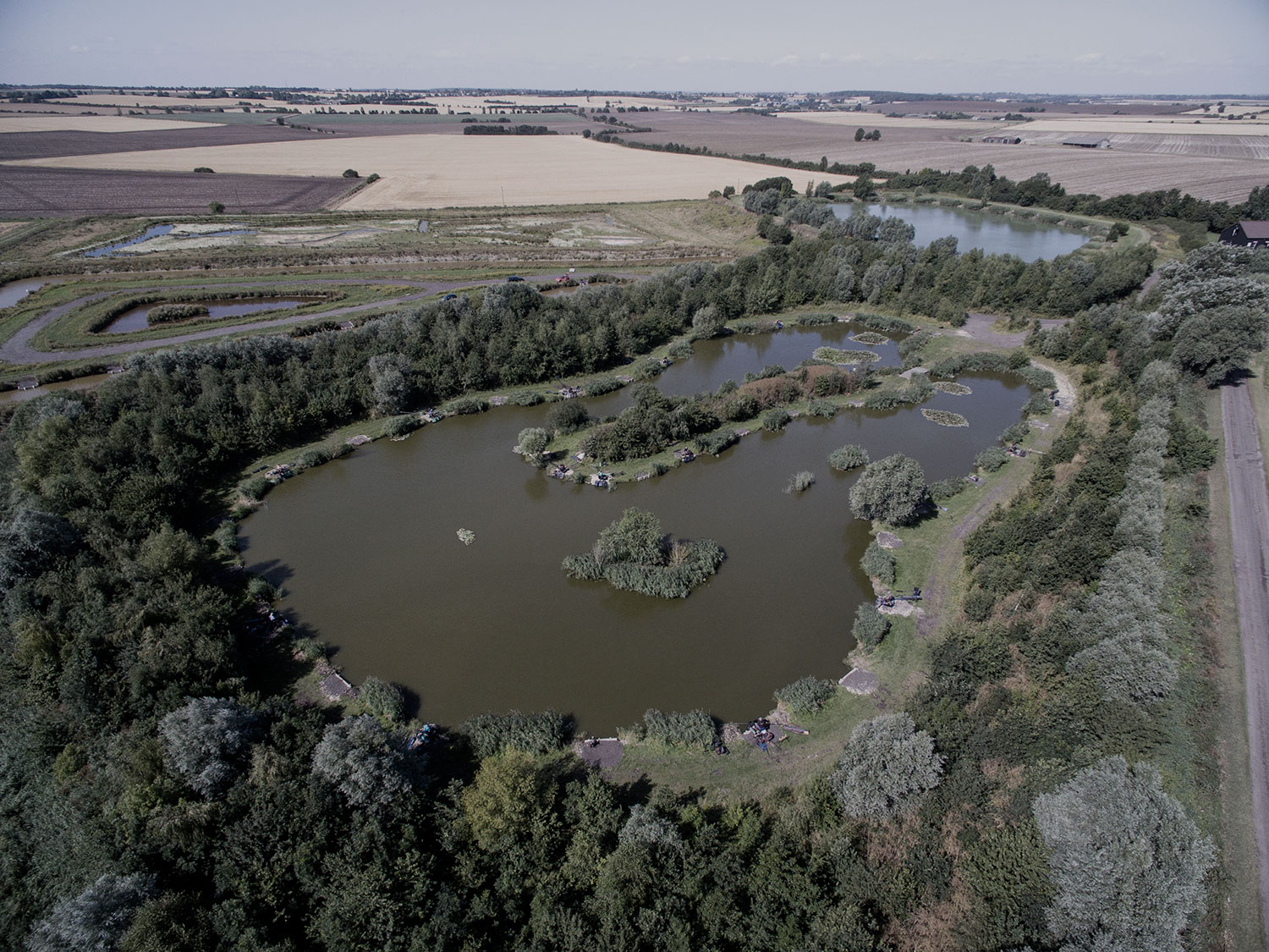 Rookery Waters, a pleasure and match fishery in rural Cambridgeshire